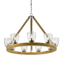 Golden 3086-9 CH - 9 Light Chandelier